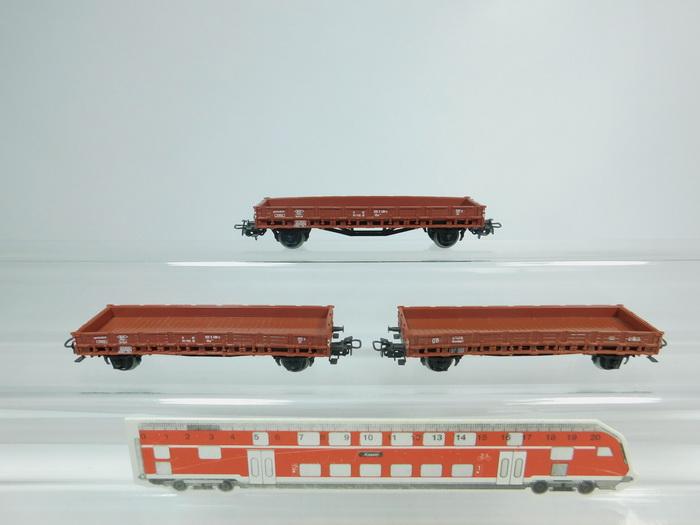 Kbs 443 der DB Märklin 4607 H0 OVP Rungenwagen Rmms