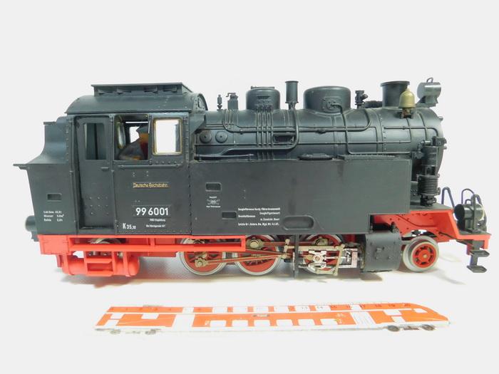 BB938-5# Lehmann/LGB Spur G/DC Dampflok 99 6001 Deutsche Reichsbahn ...